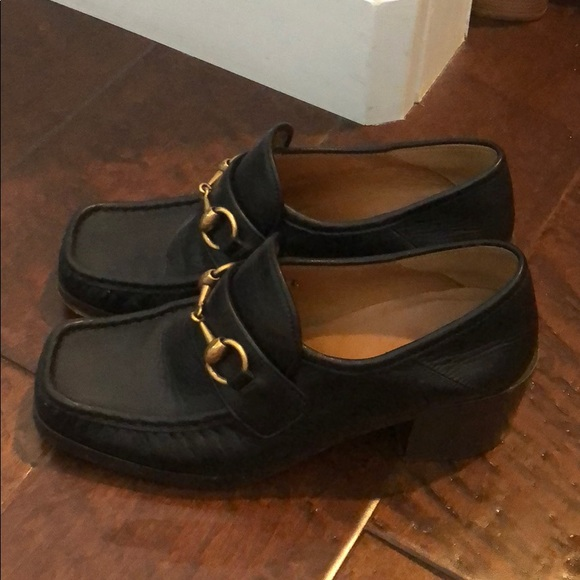 Gucci Shoes | Gucci Loafers With Block